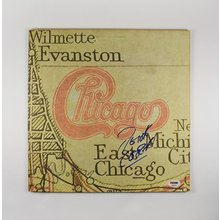Peter Cetera Chicago XI Signed Record Album LP Certified Authentic PSA/DNA COA AFTAL