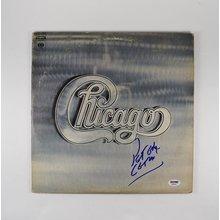 Peter Cetera Chicago Signed Record Album LP Certified Authentic PSA/DNA COA