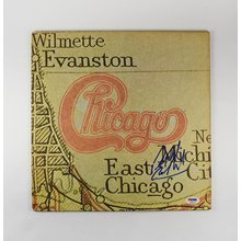 Peter Cetera Chicago XI Signed Record Album LP Certified Authentic PSA/DNA COA