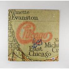 Peter Cetera Chicago 'XI' Signed Record Album LP Certified Authentic PSA/DNA COA