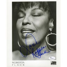 Roberta Flack Signed 8x10 Photo Certified Authentic JSA COA