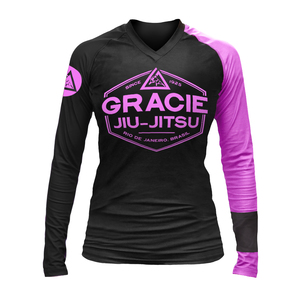 Pink Rank Long-Sleeve Rashguard (Women)