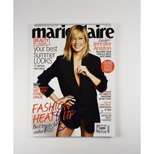 Jennifer Aniston Signed Marie Claire Magazine Certified Authentic PSA/DNA COA