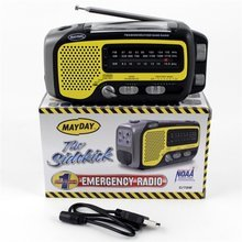 Hurricane Preparedness Dynamo Voyager Trek Radio Flashlight