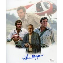 Lee Majors Signed 8x10 Photo Certified Authentic JSA COA