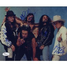 Faith No More Band Signed 8x10 Photo Certified Authentic JSA COA