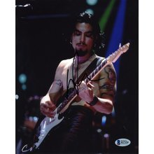 Dave Navarro Jane's Addiction Signed 8x10 Photo Certified Authentic BAS COA