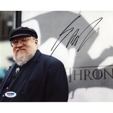 George R.R. Martin Game of Thrones Signed 8x10 Photo Certified Authentic PSA/DNA COA AFTAL