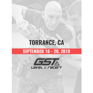 Re-Certification: Torrance, CA (September 16-20, 2019)