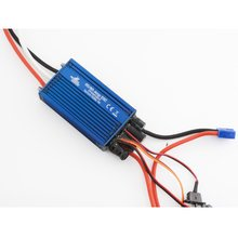 80A Brushless Marine ESC: Dual Battery