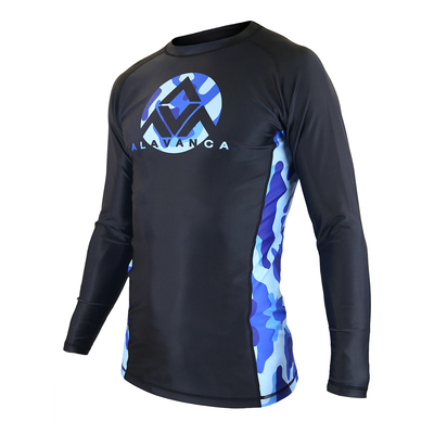 AV Winter Camo Long-Sleeve Rashguard (Men)