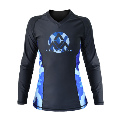 AV Winter Camo Long-Sleeve Rashguard (Women)