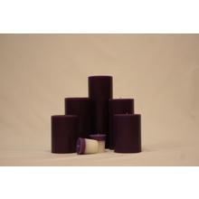 "9"" B&B Lavender Woods Pillar"