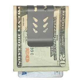 The mini-VIPER™ Titanium Money Clip - NASA Optical Gray
