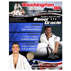 Washington DC Seminar 2: Guillotine Mastery @11am (6/23/19)
