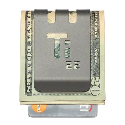 The VIPER™ Titanium Money Clip