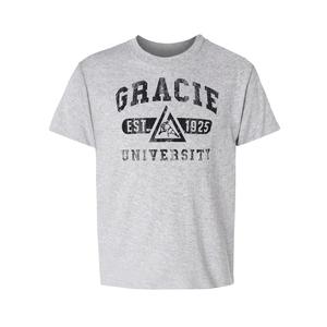 Kids Gracie University Tee (Gray)