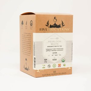 Heirloom White (Bai Mu Dan): 15 Tea Sachets