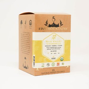 Nile Valley Chamomile Tisane: 15 Tea Sachets