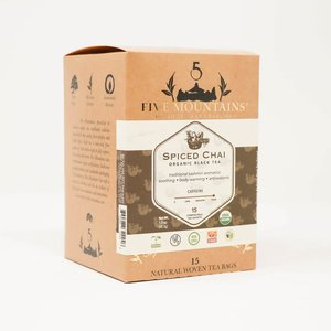 Spiced Chai: 15 Tea Sachets