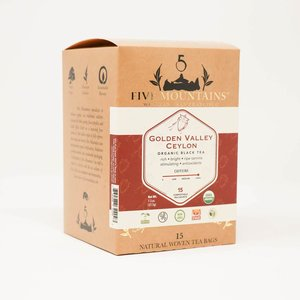 Golden Valley Ceylon: 15 Tea Sachets