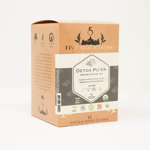 Detox Puer Retail Box: 15 Tea Sachets