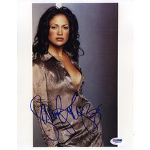 Jennifer Lopez Sultry Signed 8x10 Photo Certified Authentic PSA/DNA COA