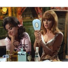 Gilligan's Island Cast Tina Louise and Dawn Wells Signed 8x10 Photo Certified Authentic Beckett BAS COA