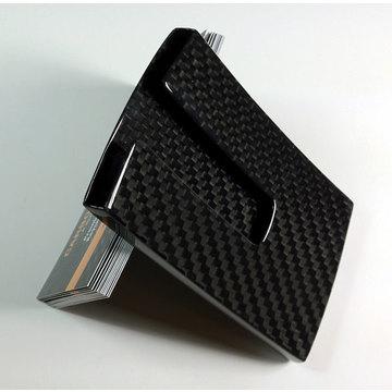 e2307f159286 The Kaarthouder carbon fiber business card case