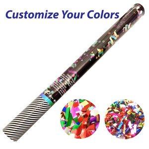 Large Confetti Cannon with Metallic Confetti or Streamers