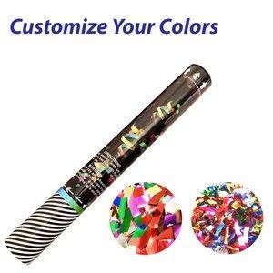Medium Confetti Cannon with Metallic Confetti or Streamers
