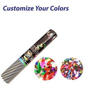 Small Confetti Cannon with Metallic Confetti or Streamers