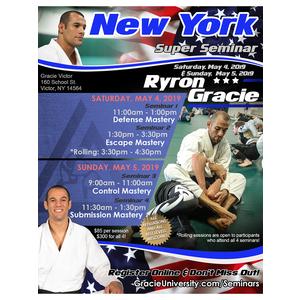 New York Seminar 3: Control Mastery @9am (5/5/19)