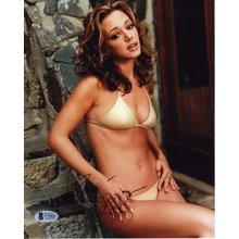 Leah Remini Bikini Signed 8x10 Photo Certified Authentic Beckett BAS COA