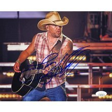 Jason Aldean Promo Signed 8x10 Photo Certified Authentic JSA COA