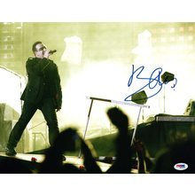 Bono U2 Signed 11x14 Photo Certified Authentic PSA/DNA COA