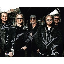 Deep Purple Band Signed 11x14 Photo Certified Authentic PSA/DNA COA