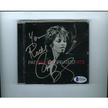 Pat Benatar and Neil Geraldo Signed CD Certified Authentic Beckett BAS COA