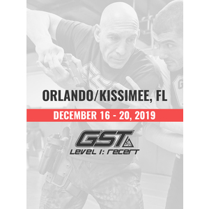 Re-Certification: Orlando/Kissimmee, FL (December 16-20, 2019)