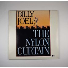 Billy Joel Signed The Nylon Curtain Album LP Certified Authentic BAS COA
