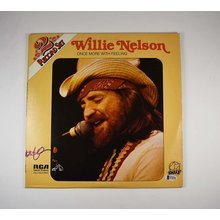 Willie Nelson Once More With Feeling Signed Record Album LP Certified Authentic BAS COA