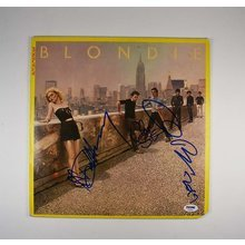Blondie Autoamerican Signed Record Album LP Certified Authentic PSA/DNA COA