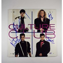 Culture Club Signed LP Record Album Certified Authentic PSA/DNA COA