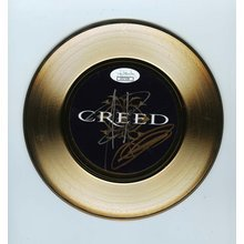 Creed Stapp and Tremonit Signed 45 Gold Vinyl Record Certified Authentic JSA COA