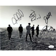 Collective Soul Band Signed 8x10 Photo Certified Authentic JSA COA