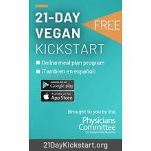 21-Day Vegan Kickstart Card
