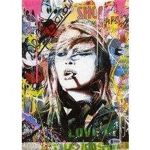 Brigitte Bardot Mr Brainwash Signed Print Certified Authentic Beckett BAS COA