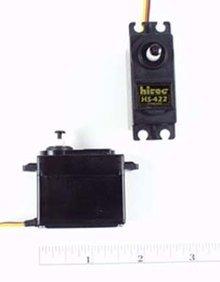 Std Dlx Dual Oilite BB Servo HS-422: Universal