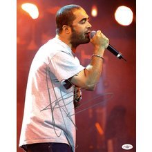 Aaron Lewis Staind Signed 11x14 Photo Certified Authentic JSA COA
