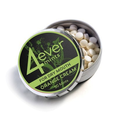 4everMints For Dry Mouth  Orange Cream 50 ct